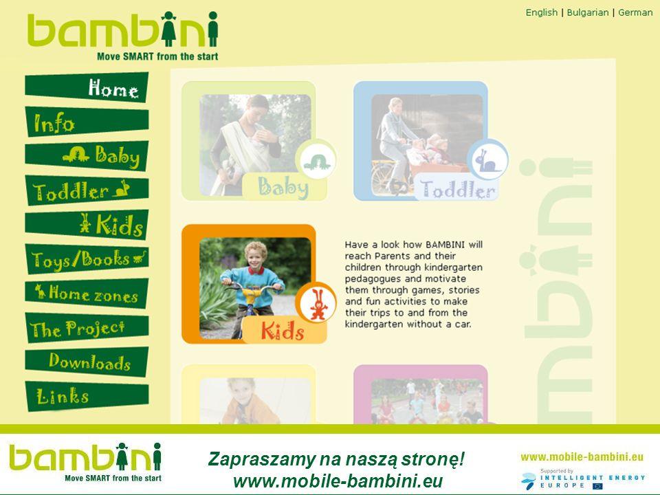 Zapraszamy na naszą stronę! www.mobile-bambini.eu