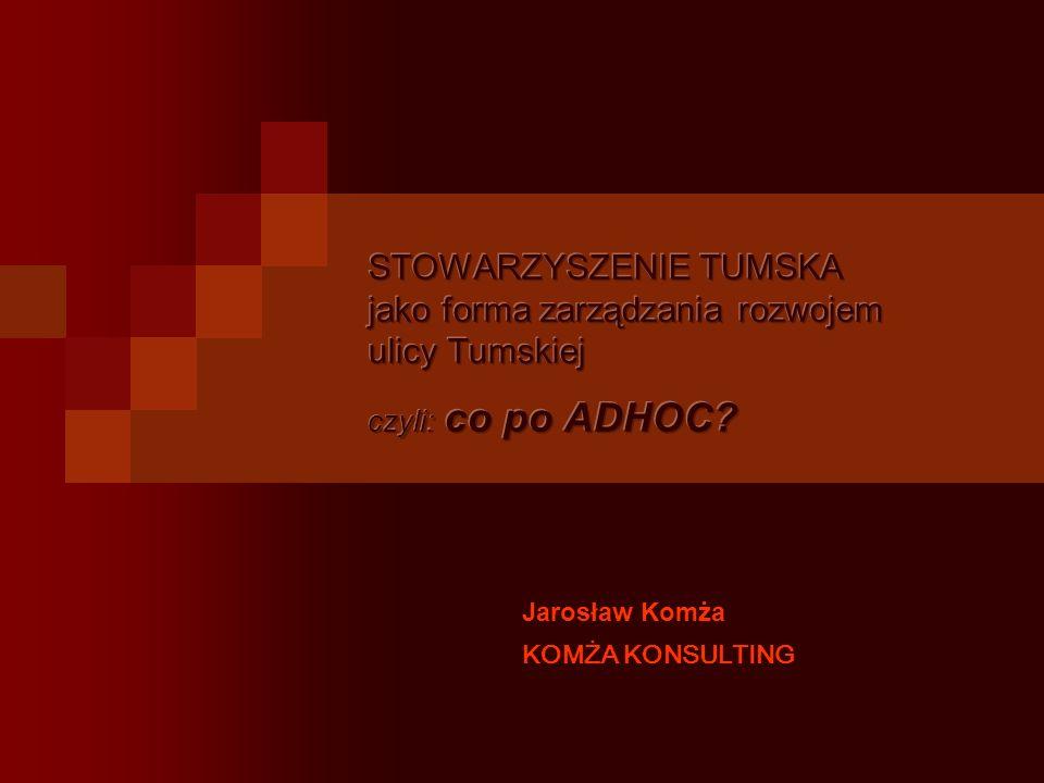 Jarosław Komża KOMŻA KONSULTING