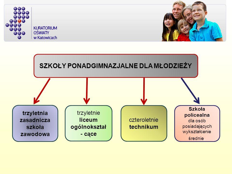 TERMINY REKRUTACJI do klas pierwszych młodzieżowych szkół ponadgimnazjalnych do 29 lutego 2012 r.