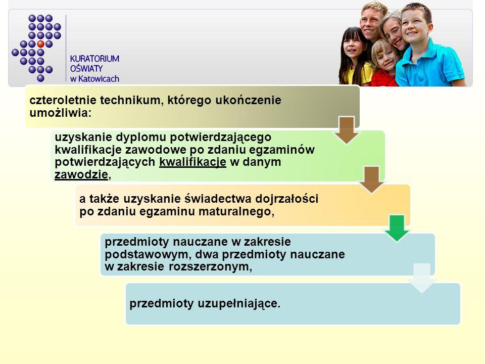Uwzględniając Polską Klasyfikację Działalności (PKD) wyodrębniono następujące obszary kształcenia: administracyjno-usługowy (A), budowlany (B), elektryczno-elektroniczny (E), mechaniczny i górniczo-hutniczy (M), rolniczo-leśny z ochroną środowiska (R), turystyczno-gastronomiczny (T), medyczno-społeczny (Z), artystyczny (S).