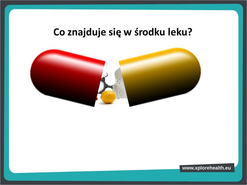Co znajduje się w środku leku?