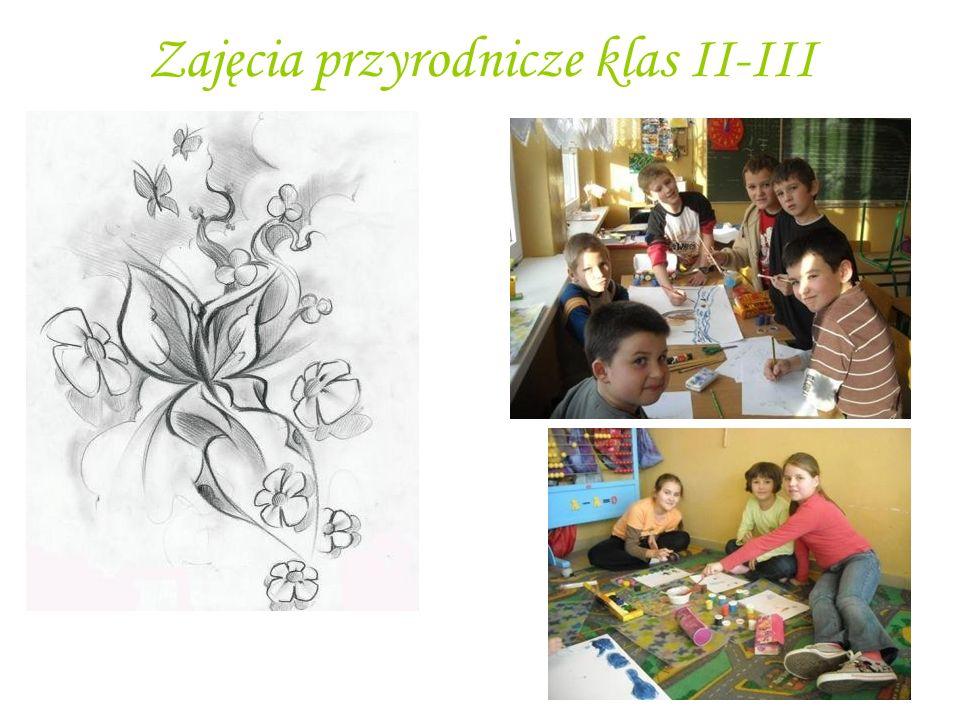 Zajęcia przyrodnicze klas II-III