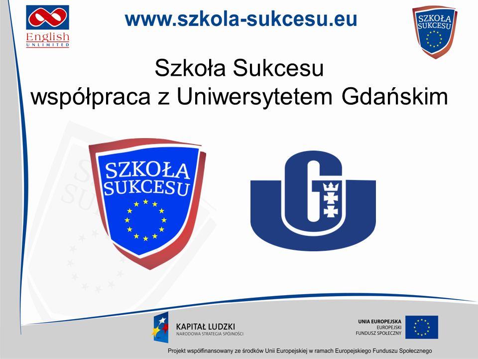 Szkoła Sukcesu współpraca z Uniwersytetem Gdańskim