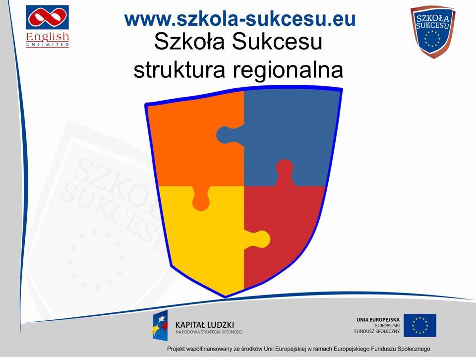 Szkoła Sukcesu struktura regionalna