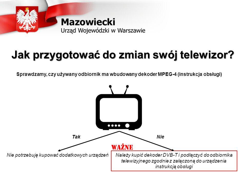 Jak przygotować do zmian swój telewizor.