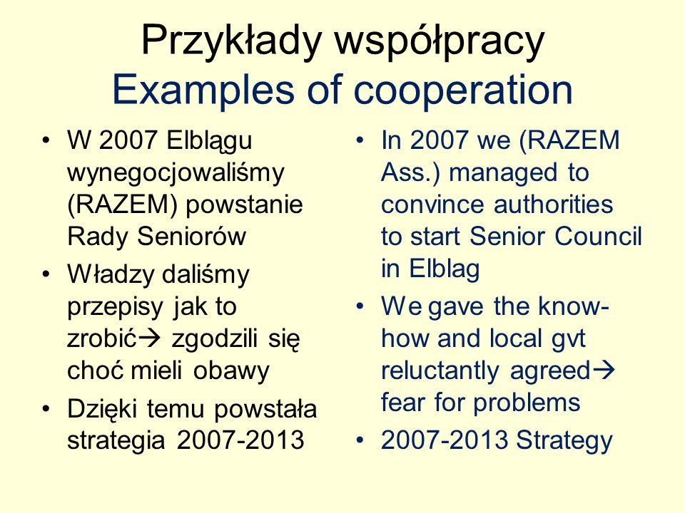 Strategia 2007-2013 2007-2013 Strategy Dzięki Strategii mamy wpływ na wiele rzeczy, np.