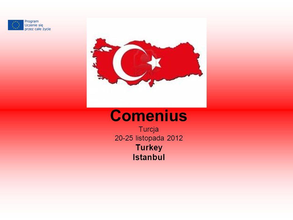 Comenius Turcja 20-25 listopada 2012 Turkey Istanbul
