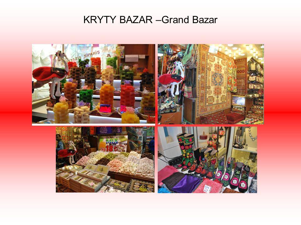 KRYTY BAZAR –Grand Bazar