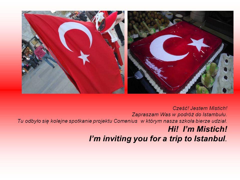 Cześć. Jestem Mistich. Zapraszam Was w podróż do Istambułu.