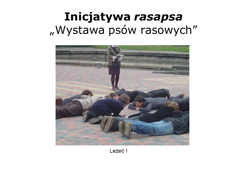 Inicjatywa rasapsa Wystawa psów rasowych Leżeć !