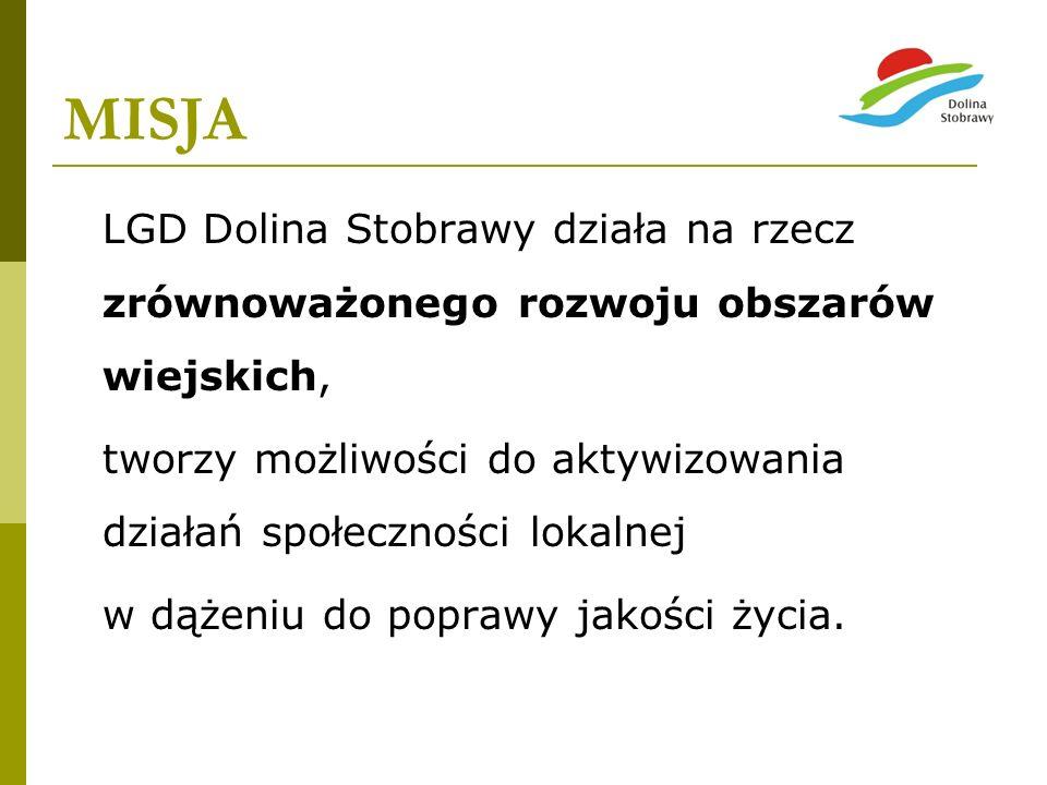 WIZJA - STOBRAWA RZEKA WIEDZY - Dolina Stobrawy jest obszarem, który wykorzystując posiadany potencjał tworzy ciekawą oryginalną ofertę edukacyjną i turystyczną skierowaną do różnych grup społecznych.