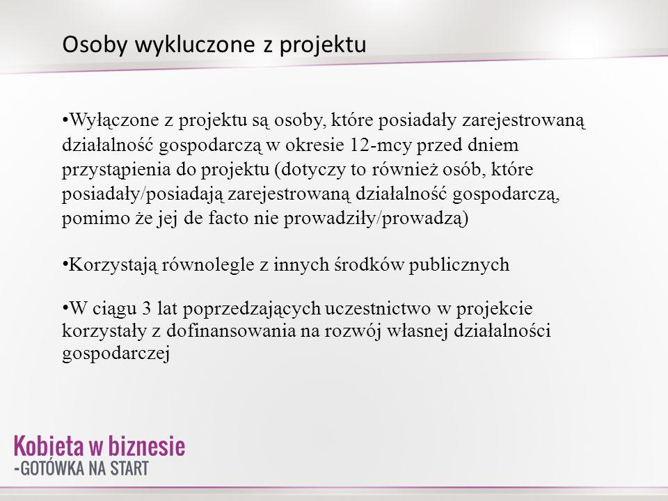 Etapy projektu W projekcie weźmie udział łącznie 30 osób wyłonionych przez Komisję Oceny Wniosków w drodze rekrutacji.