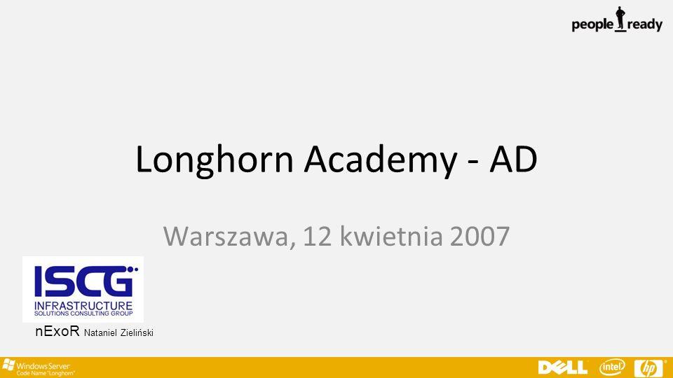 Longhorn Academy - AD Warszawa, 12 kwietnia 2007 nExoR Nataniel Zieliński