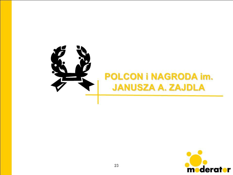 23 POLCON i NAGRODA im. JANUSZA A. ZAJDLA