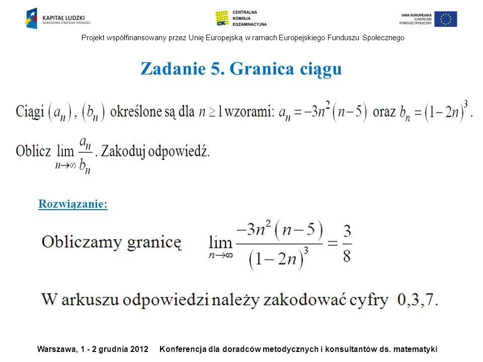 Projekt współfinansowany przez Unię Europejską w ramach Europejskiego Funduszu Społecznego Warszawa, 1 - 2 grudnia 2012 Konferencja dla doradców metod