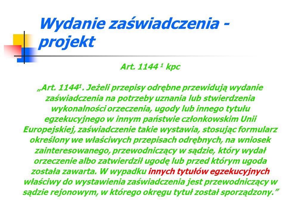 Wydanie zaświadczenia – opłata Art.71 pkt 8 ustawy o kosztach sądowych w sprawach cywilnych (Dz.
