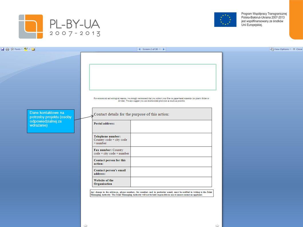 15 Программа финасируется Европейским Союзом Proszę podać analizę ryzyka i ewentualnych planów rezerwowych, w jaki sposób zostanie zapewniona trwałość.