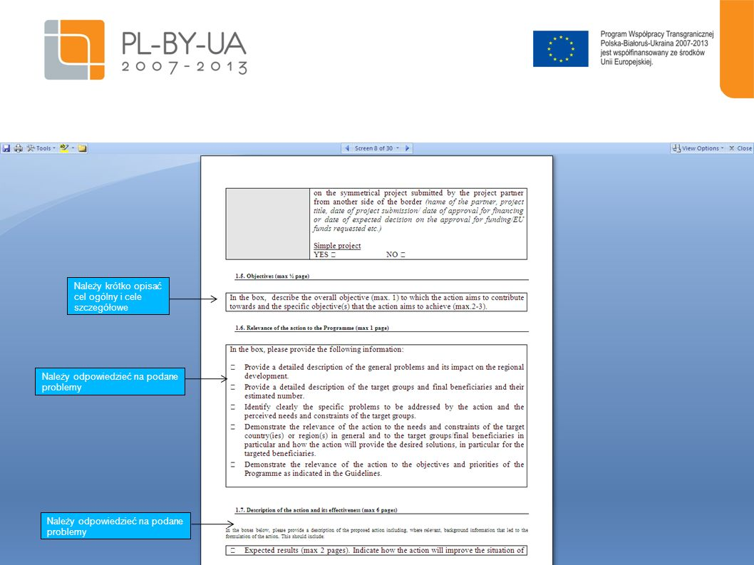 20 Należy podać w tabeli informację dotyczącą umiejętności i odpowiedniego doświadczenia Partnera Wiodącego do wdrożenia projektu Np.