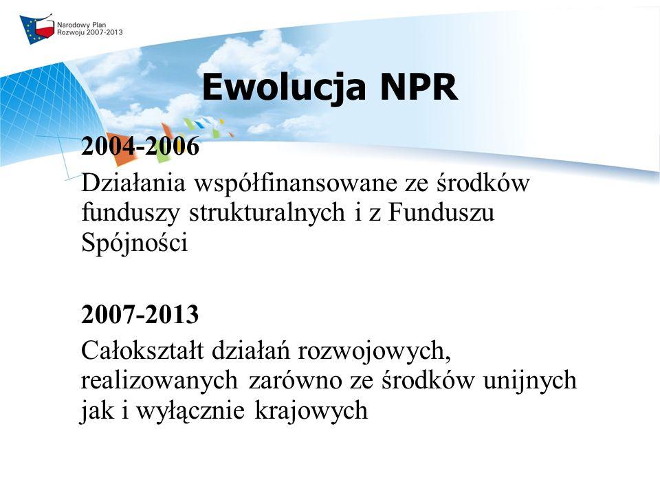 Konsultacje NPR działania Kolejnym etapem dyskusji są konsultacje regionalne: