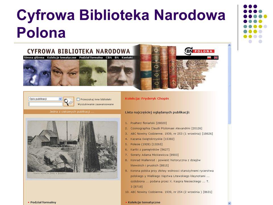CBN Polona – prezentacja dokumentu