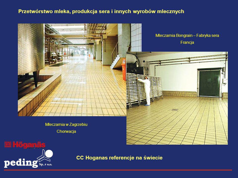Mleczarnia Bongrain – Fabryka sera Francja Mleczarnia w Zagrzebiu Chorwacja Przetwórstwo mleka, produkcja sera i innych wyrobów mlecznych CC Hoganas r