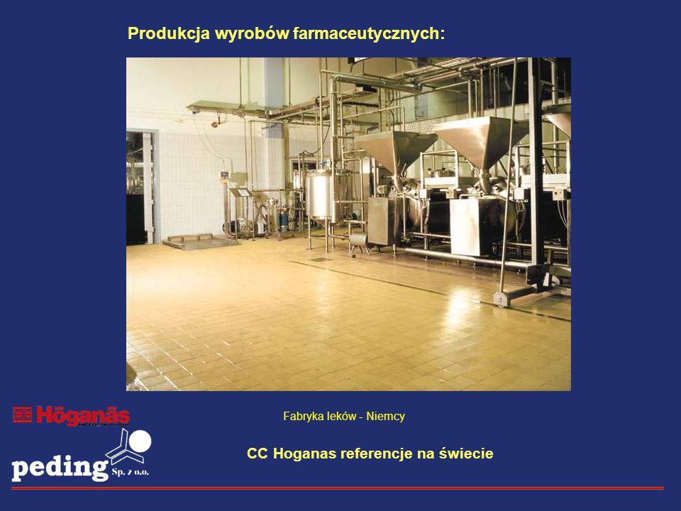 Produkcja wyrobów farmaceutycznych: Fabryka leków - Niemcy