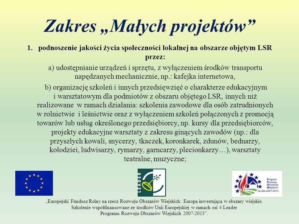 Zasady wypełniania dokumentów: - możliwość wprowadzenia poprawek i uzupełnień do wniosku ( 2 razy po 14 dni ); - możliwość zmiany jednej pozycji w planie finansowym lub ZRF, o ile nie zmieni się cel operacji oraz nie zwiększy się kwota dofinansowania; Europejski Fundusz Rolny na rzecz Rozwoju Obszarów Wiejskich: Europa Inwestująca w obszary wiejskie.