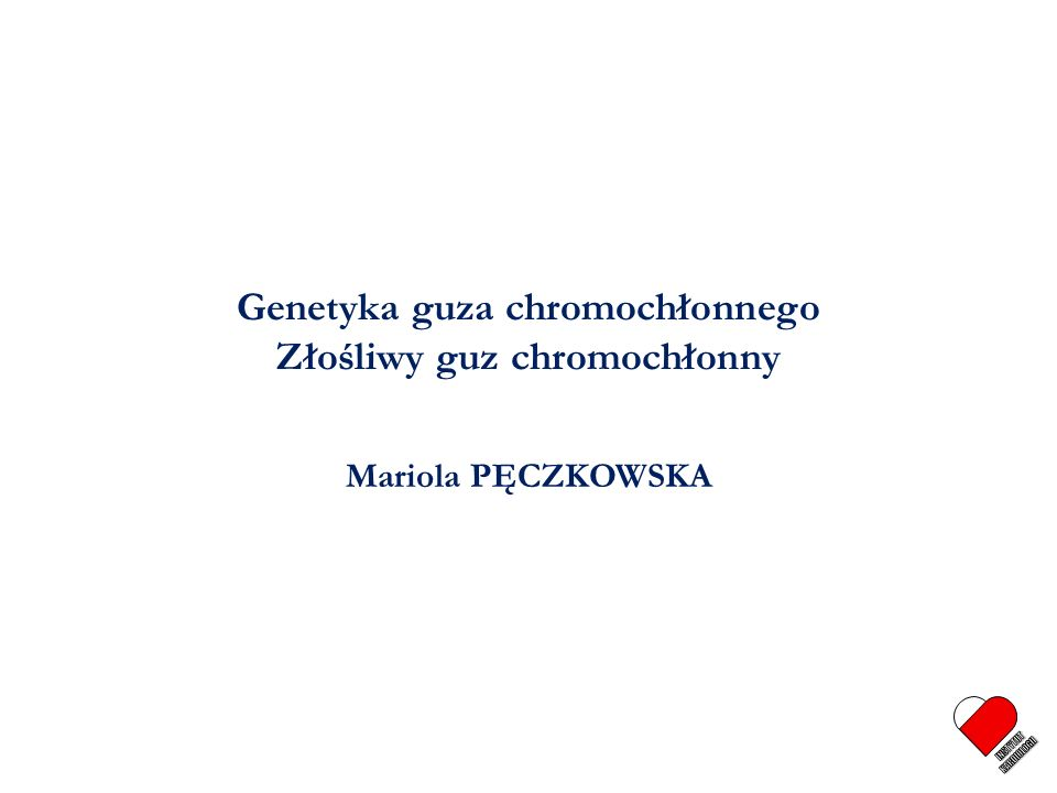 Przypadek Pęczkowska M et al., ESH 2005