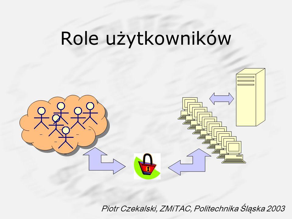 Piotr Czekalski, ZMiTAC, Politechnika Śląska 2003