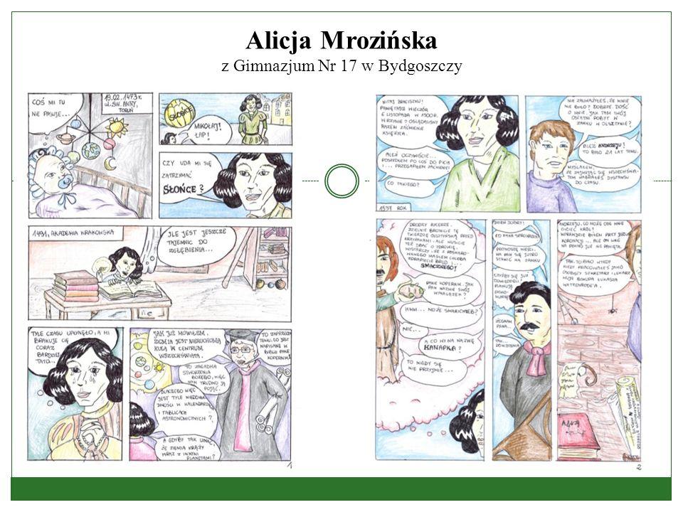 Alicja Mrozińska z Gimnazjum Nr 17 w Bydgoszczy