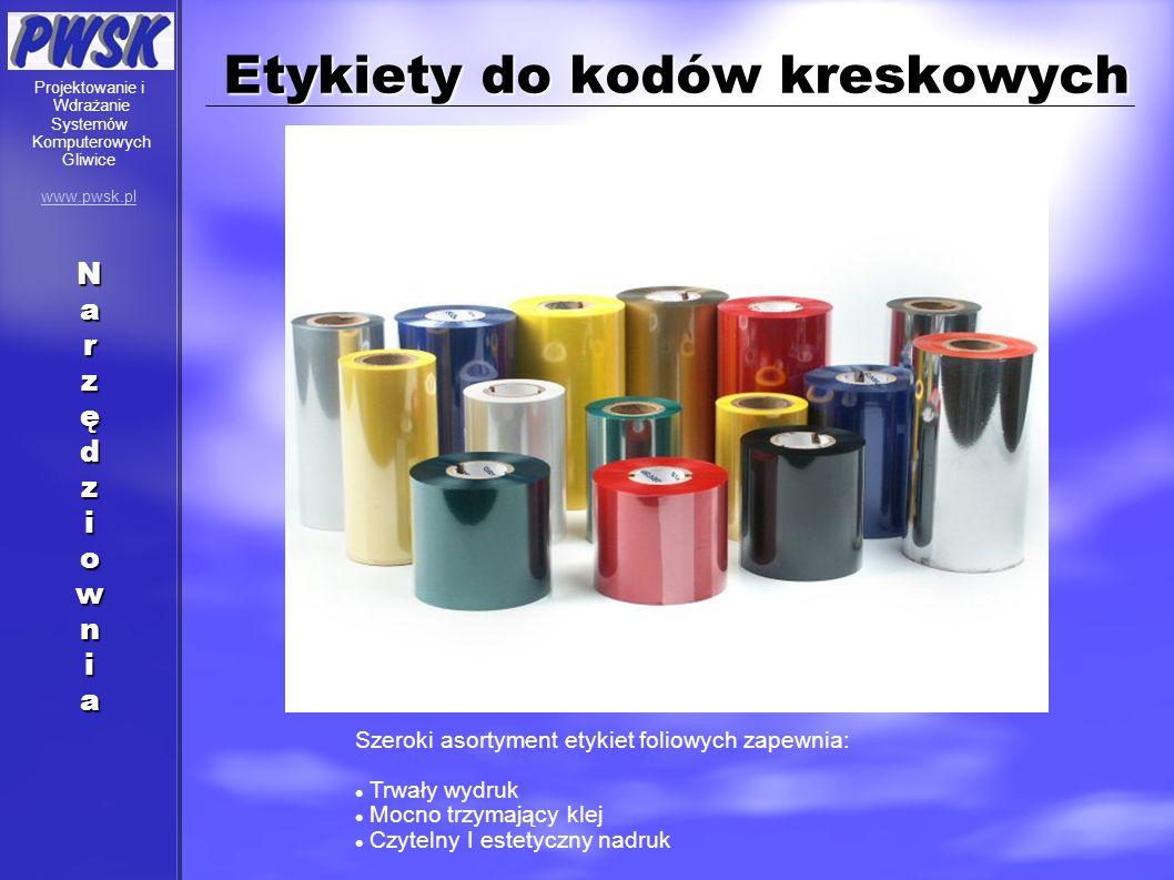 Etykiety do kodów kreskowych Szeroki asortyment etykiet foliowych zapewnia: Trwały wydruk Mocno trzymający klej Czytelny I estetyczny nadruk Projektow