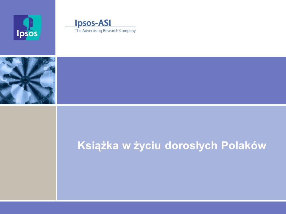 Książka w życiu dorosłych Polaków