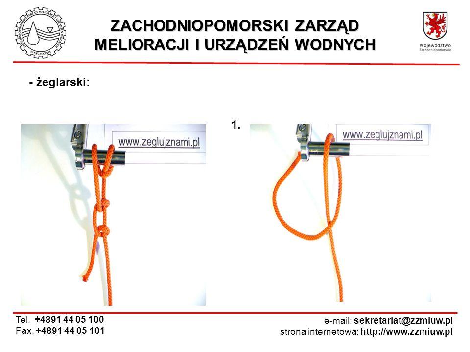 ZACHODNIOPOMORSKI ZARZĄD MELIORACJI I URZĄDZEŃ WODNYCH e-mail: sekretariat@zzmiuw.pl strona internetowa: http://www.zzmiuw.pl Tel. +4891 44 05 100 Fax