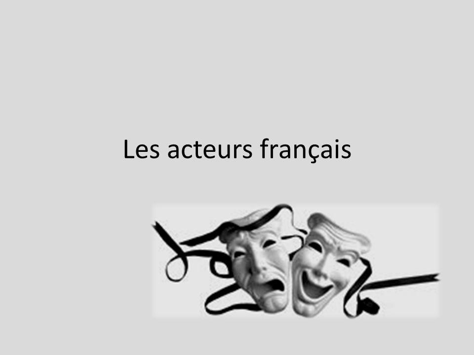 Les acteurs français