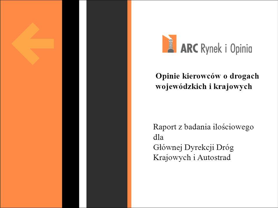 Budowa strategii public relations www.budzynski.w.pl Opinie kierowców o drogach wojewódzkich i krajowych Raport z badania ilościowego dla Głównej Dyre