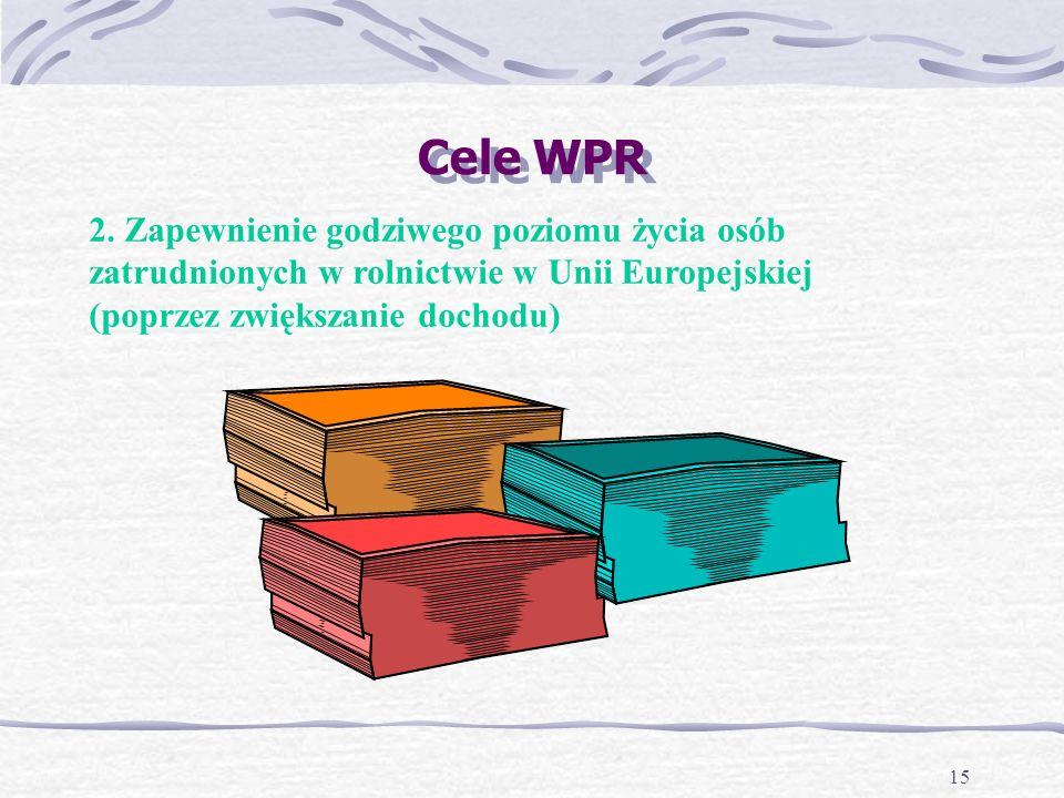 15 Cele WPR 2.