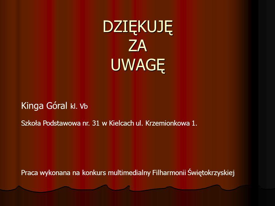 BIBLIOGRAFIA www.wikipedia.org/wiki/Piotr_Czajkowski www.cerkiew.pl/prawoslawie www.cedur.pl/czajkowski www.rosjapl.info/muzyka/czajkowski.php www.zgapa.pl www.stacjakultura.pl W tle prezentacji muzyka Piotra Czajkowskiego: - 160-suita dziadek do orzechów taniec pastuszków - Dziadek do orzechów - Trepak(taniec rosyjski)