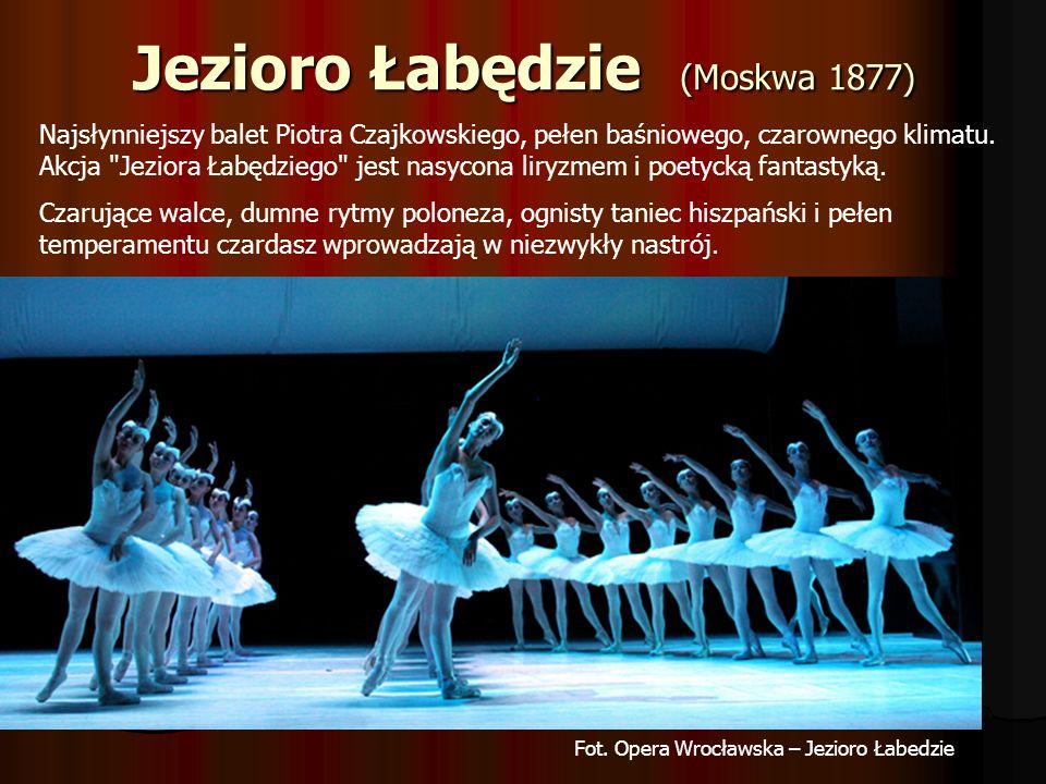 Śpiąca królewna (Petersburg 1890) Balet Śpiącą królewna, to jedno z największych muzycznych osiągnięć Piotra Czajkowskiego.