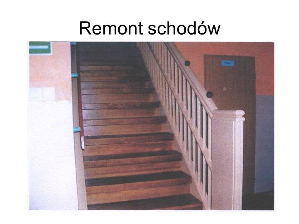 Remont schodów