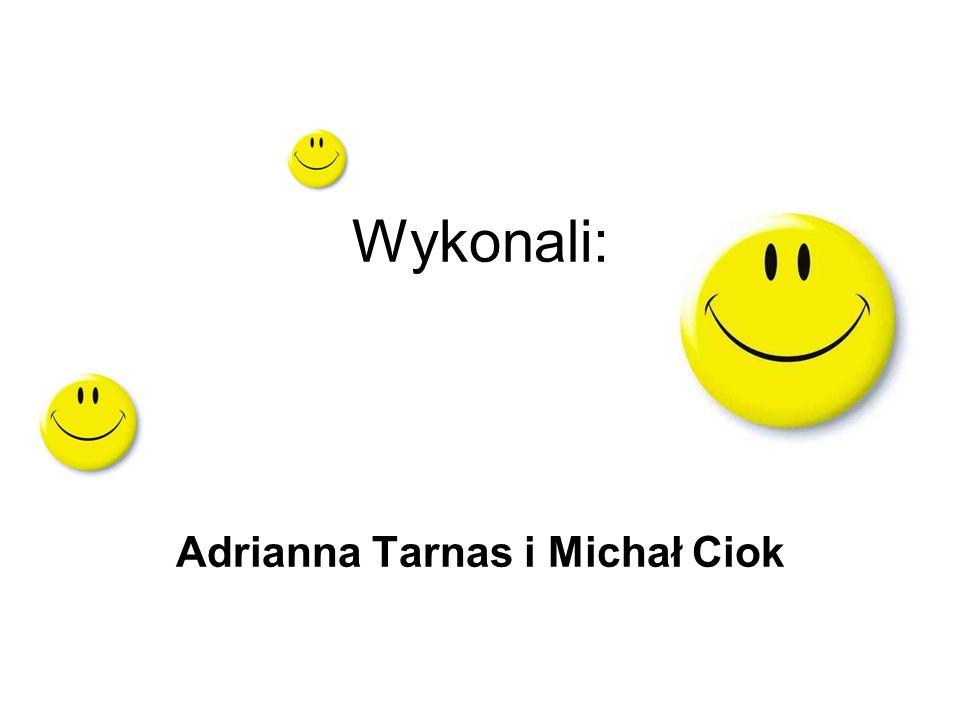 Wykonali: Adrianna Tarnas i Michał Ciok