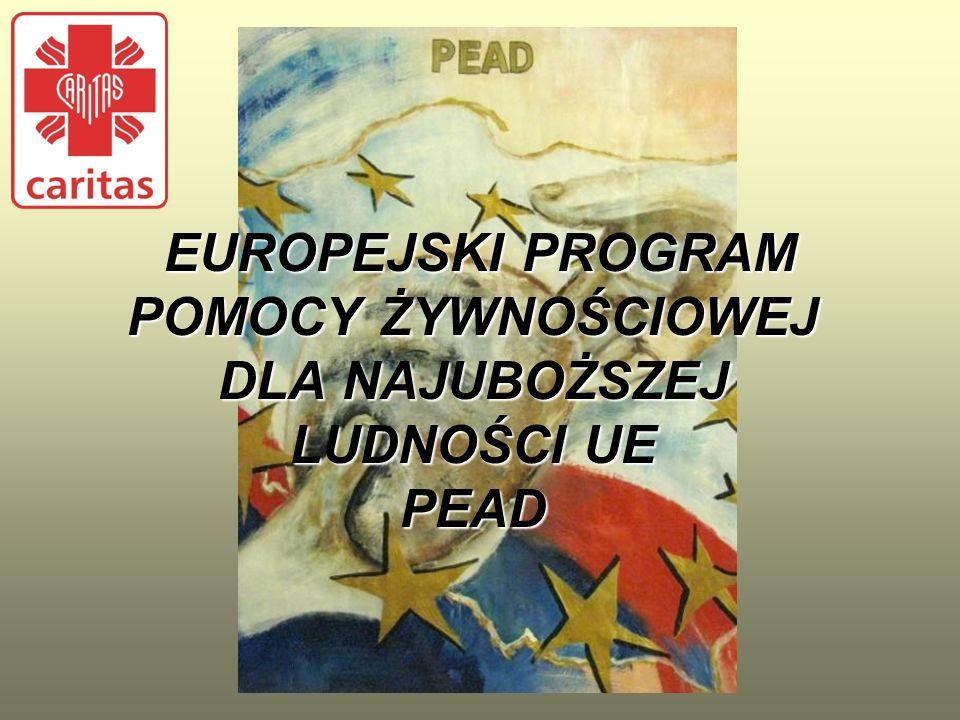 EUROPEJSKI PROGRAM POMOCY ŻYWNOŚCIOWEJ DLA NAJUBOŻSZEJ LUDNOŚCI UE PEAD EUROPEJSKI PROGRAM POMOCY ŻYWNOŚCIOWEJ DLA NAJUBOŻSZEJ LUDNOŚCI UE PEAD