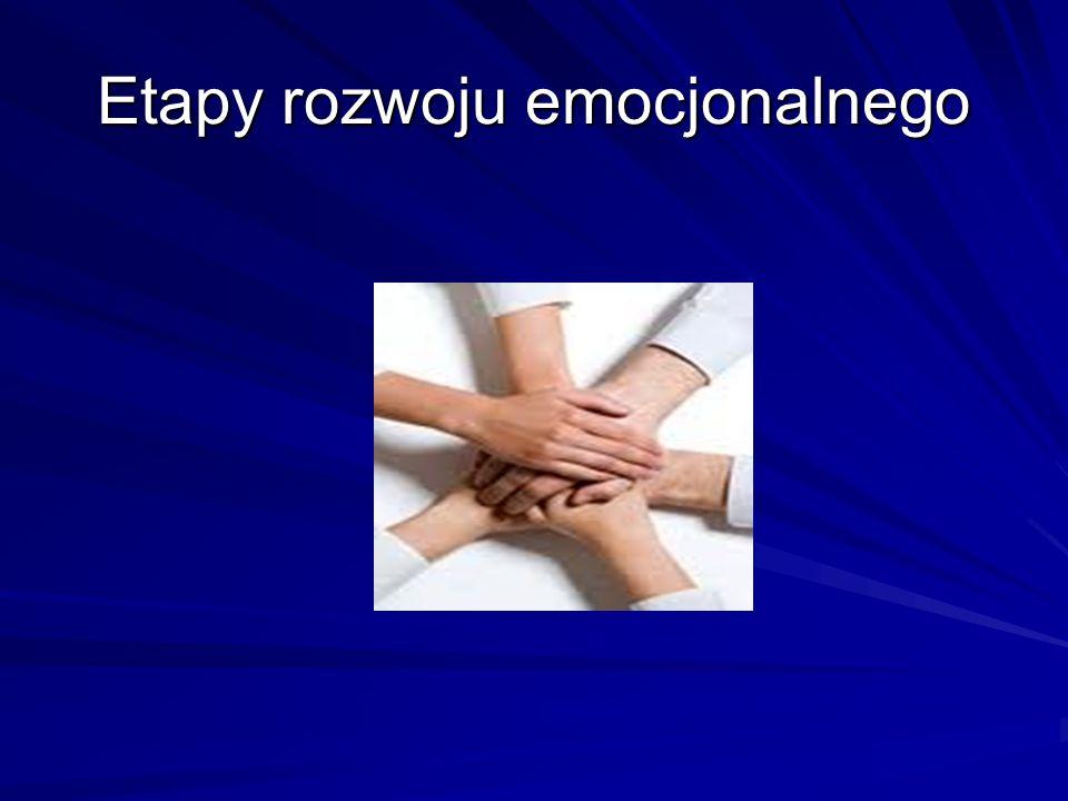 Etapy rozwoju emocjonalnego