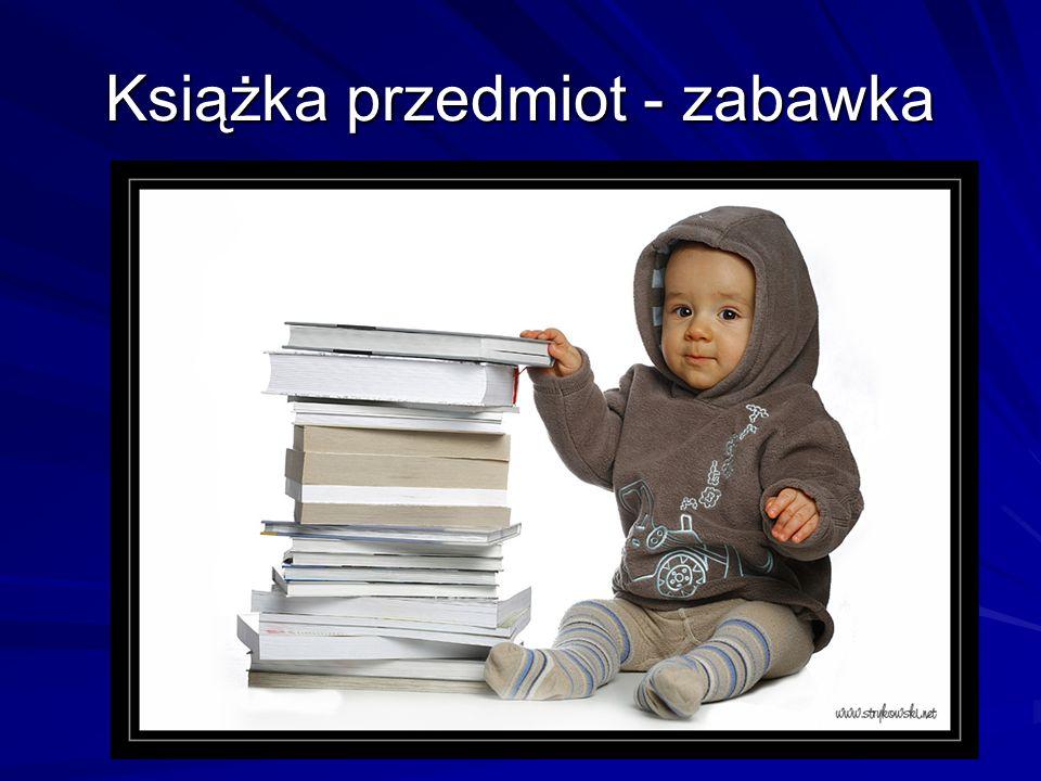 Książka przedmiot - zabawka