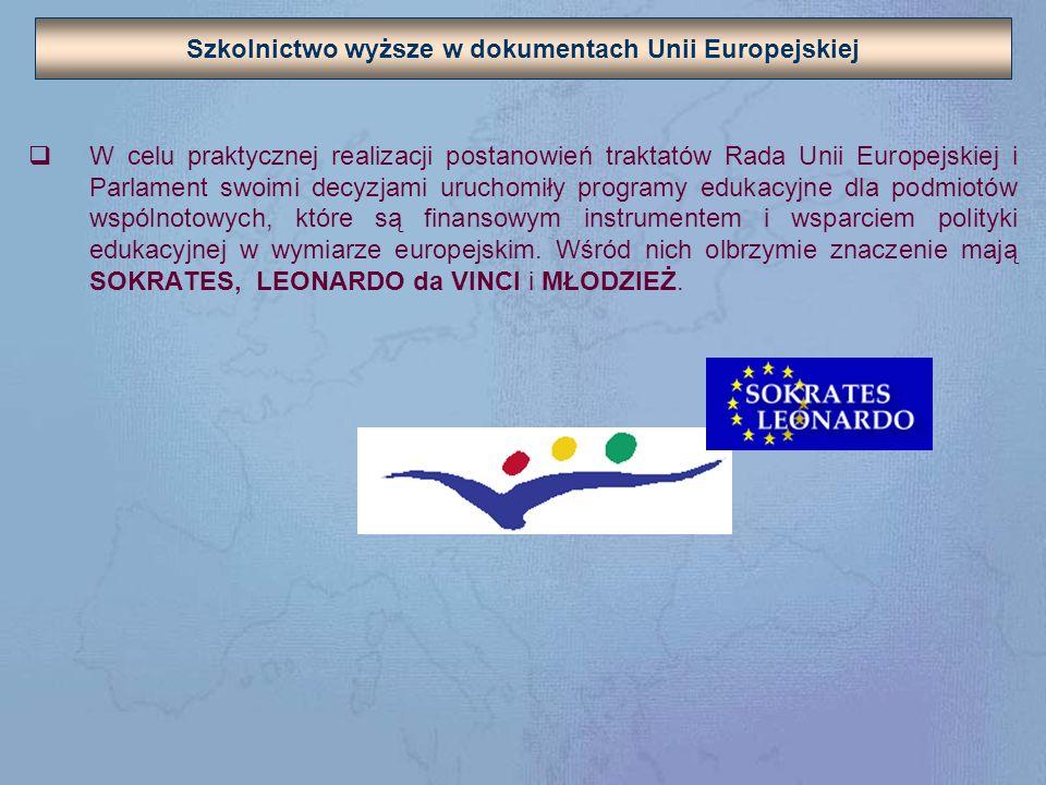 Europejski Obszar Szkolnictwa Wyższego - ocena Bezsporną jest zatem kwestia istnienia europejskiej platformy porozumienia w sprawach jakości kształcenia.