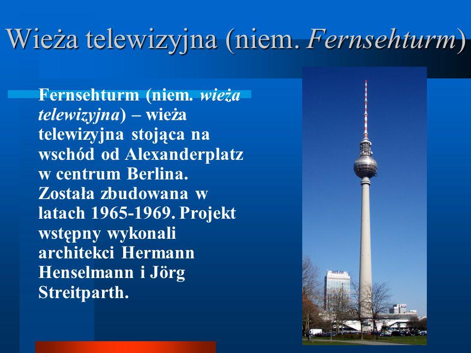 Gmach parlamentu Rzeszy w Berlinie (niem. Reichstagsgebäude) Gmach parlamentu Rzeszy w Berlinie (niem. Reichstagsgebäude) – od 1999 siedziba niemiecki