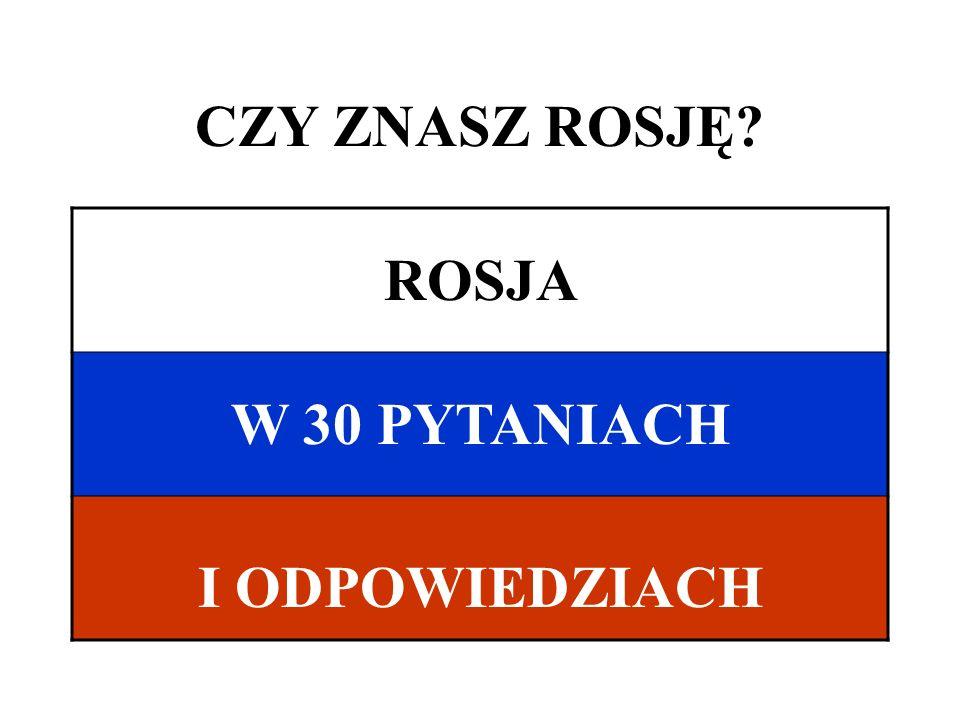 ODPOWIEDZI 1 – b11 – a21 – a 2 – c12 – c22 – a 3 – b*13 – a23 – b 4 – c14 – b24 – c 5 – a15 – c25 – a 6 – c16 – b26 – c 7 – c17 – b27 – a 8 – a18 – b28 – b 9 – c19 – b29 – b 10 - b20 - a30 – a *tego pytania nie było w quizie w dniu 12.10.2010