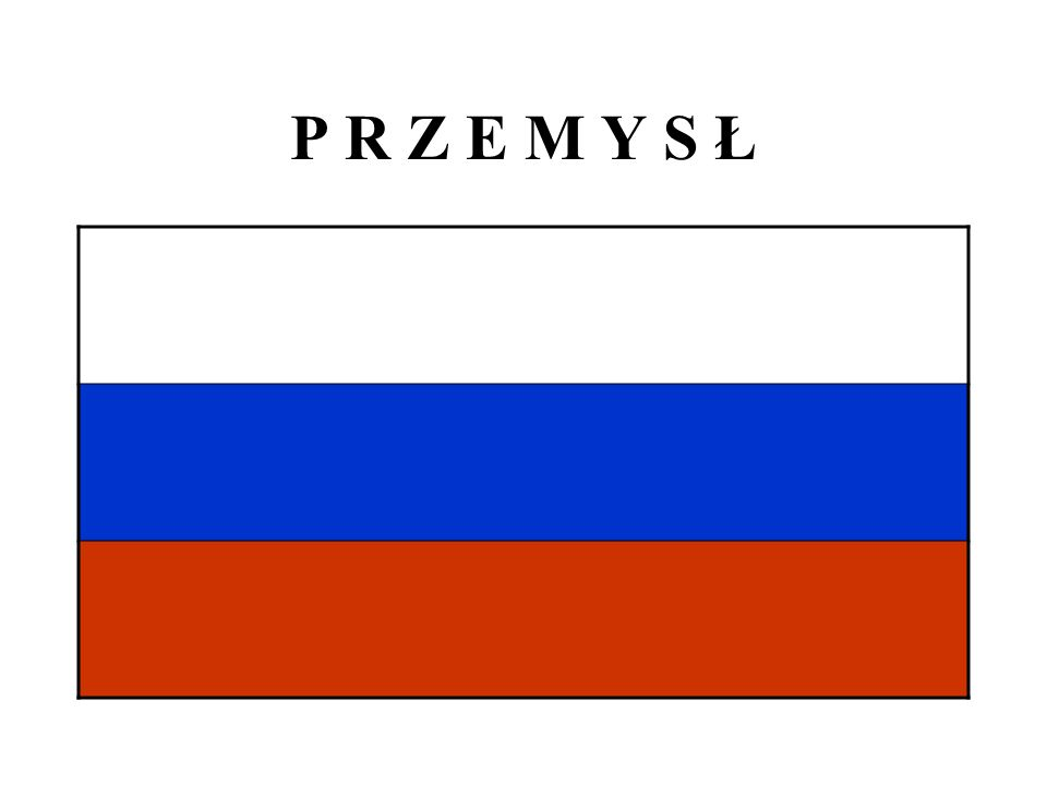 P R Z E M Y S Ł