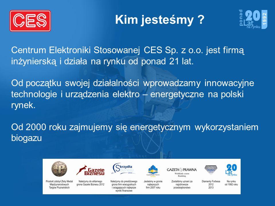 Kim jesteśmy ? Centrum Elektroniki Stosowanej CES Sp. z o.o. jest firmą inżynierską i działa na rynku od ponad 21 lat. Od początku swojej działalności