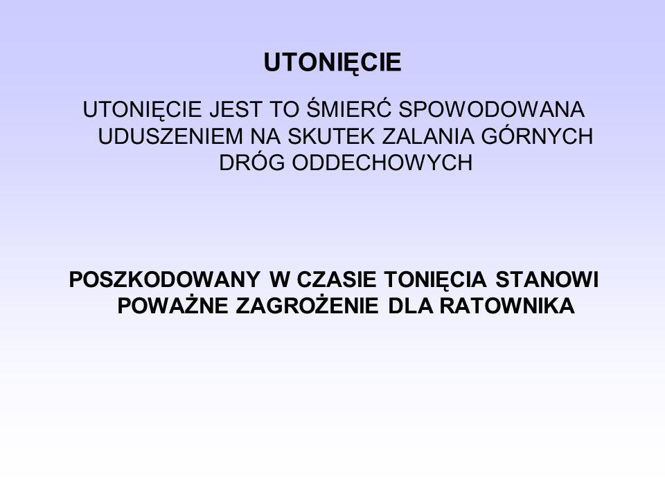 EWAKUACJA Z JEDNOSTEK PŁYWAJĄCYCH 1.JEDNOSTKA EWAKUOWNA, 2.