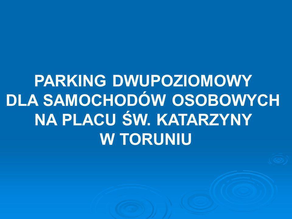LOKALIZACJA Plac Św. Katarzyny w Toruniu (północna część)